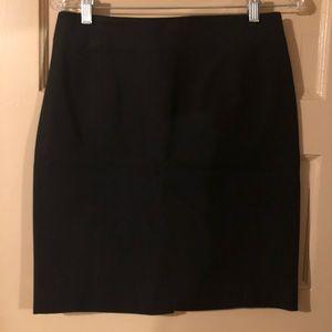 Banana Republic Stretchy Black Pencil Skirt
